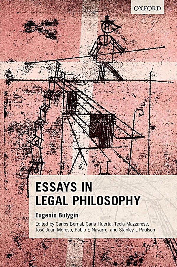 essay in legal philosophy