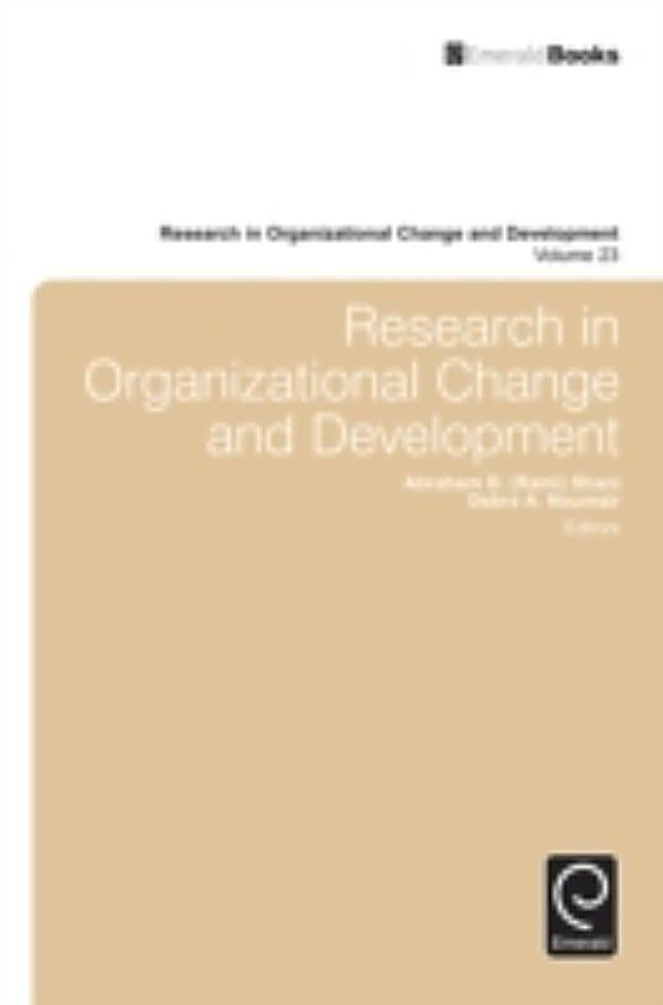 organizational change research paper