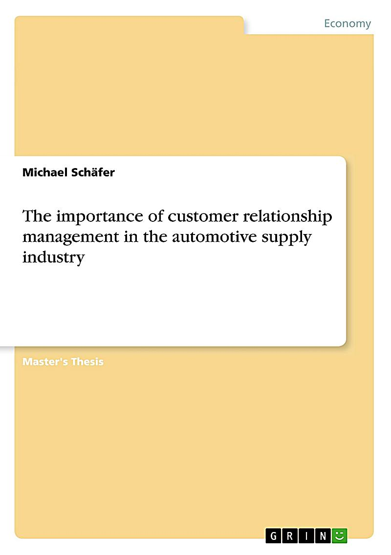 masters thesis on customer relationship management