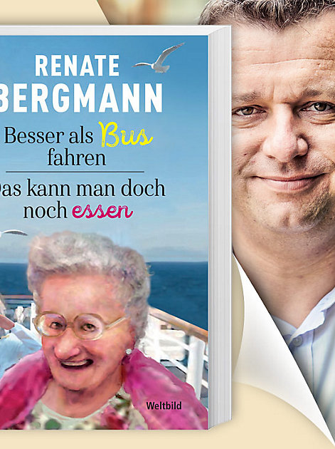 Renate Bergmann-Doppelband: Besser als Busfahren & Das kann man doch noch essen
