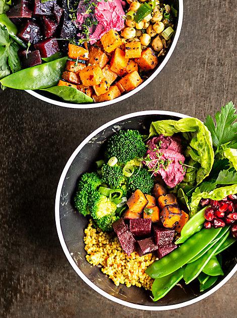 Rund und gesund: Bowls voller Vitamine und Geschmack