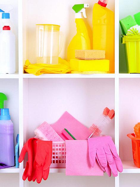 Mit frischem Arbeitwerkzeug macht Putzen gleich viel mehr Spaß