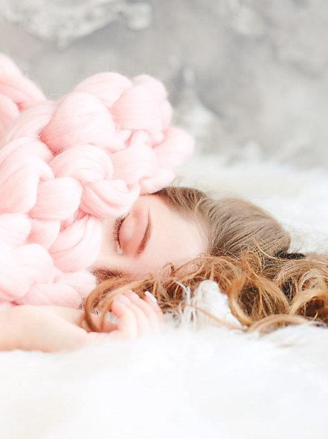 Herrlich ausgeschlafen: Ein guter Tag beginnt mit einer erholsamen Nacht.