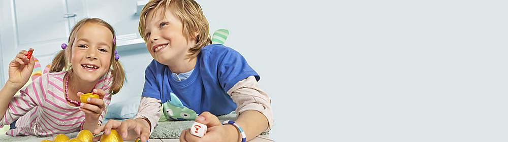 __Von Barbie bis v-tech … klicken Sie einfach auf das entsprechende Logo:__  Spielwaren zu günstigen Preisen: Ob für Jungen oder Mädchen - bei uns finden Sie Spielzeug für jedes Alter! Kaufen Sie jetzt Top-Markenspielwaren und machen Sie Ihren Lieben eine Freude. Klicken Sie auf das entsprechende Logo und Sie finden die passenden Spielsachen!