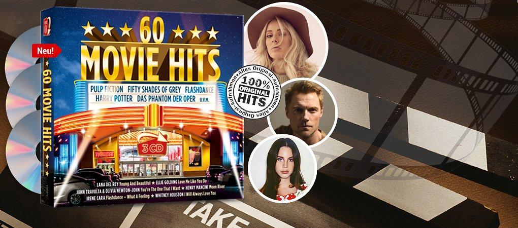 60 Movie Hits 3CD hier kaufen
