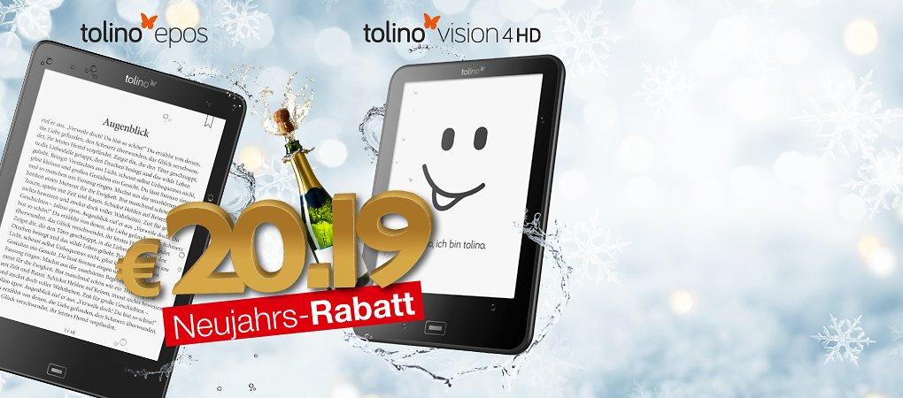 Zum Start ins neue Jahr - Neujahrs-Rabatt!