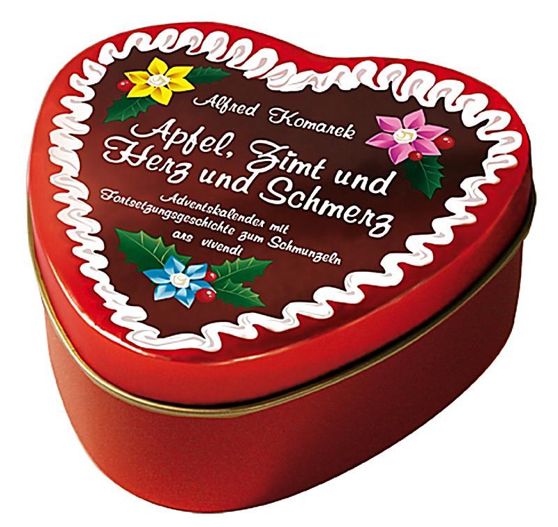 Image of Apfel, Zimt und Herz und Schmerz, in Blechdose