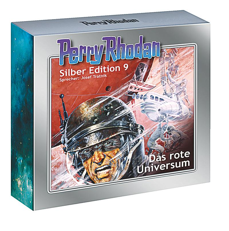 Image of Perry Rhodan Silberedition Band 9: Das rote Universum (13 Audio-CDs)