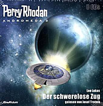 Image of Perry Rhodan, Andromeda - Der schwerelose Zug, 8 Audio-CDs