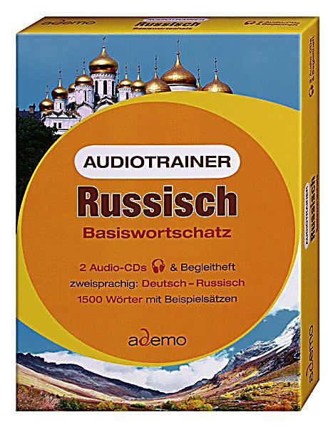 Image of Audiotrainer Russisch Basiswortschatz, 2 Audio-CDs