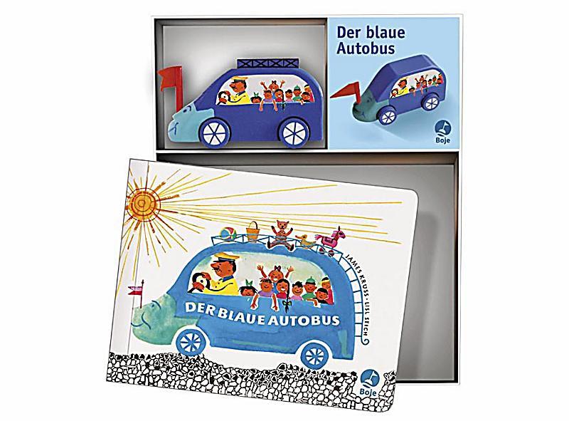 Der blaue Autobus, m. Holzspielzeug