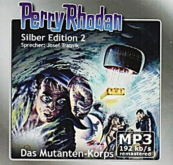 Image of Perry Rhodan Silberedition Band 2: Das Mutanten-Korps (2 MP3-CDs)