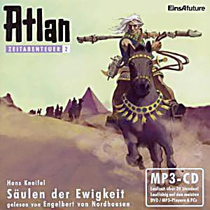 Image of Atlan, Zeitabenteuer - Säulen der Ewigkeit, MP3-CD