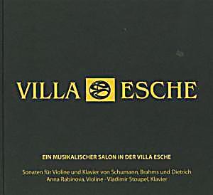 Image of Ein musikalischer Salon in der Villa Esche - Sonaten für Violine und Klavier von Schumann, Brahms und Dietrich