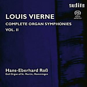 Image of Complete Organ Symphonies Vol.2
