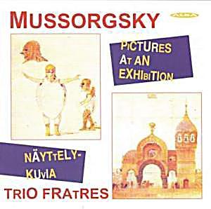 Image of Bilder Einer Ausstellung Auf 3 Akkordeons