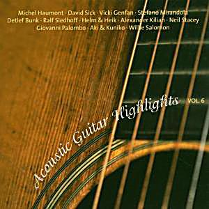 Image of Acoustic Guitar Highlights Vol.6