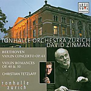 Image of Beethoven: Violinkonzert Und Romanzen