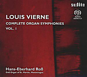 Image of Complete Organ Symphonies Vol.1