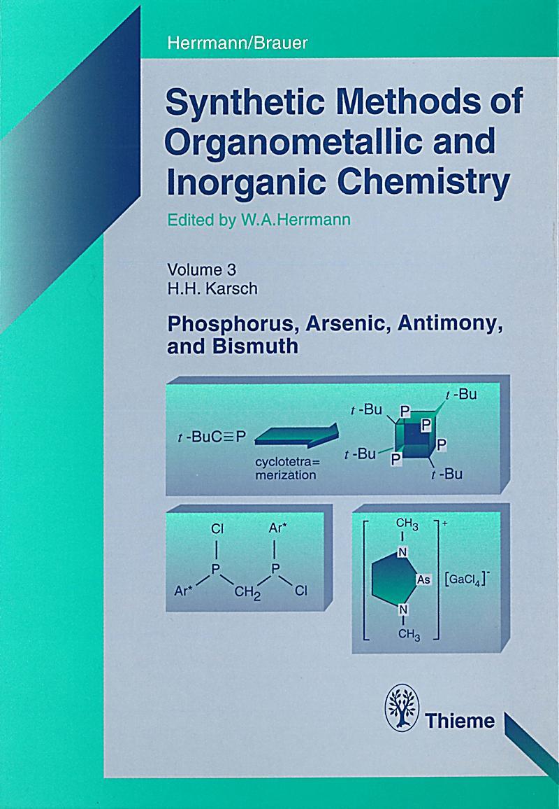 Synthetic Methods of Organometallic and Inorganic Chemistry, Volume 3, 1996
