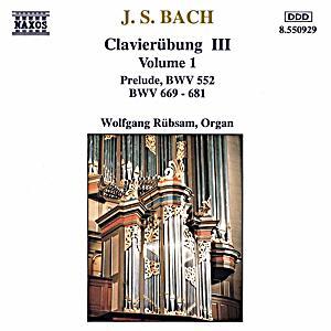Image of Clavierübung Bwv 669-681,552