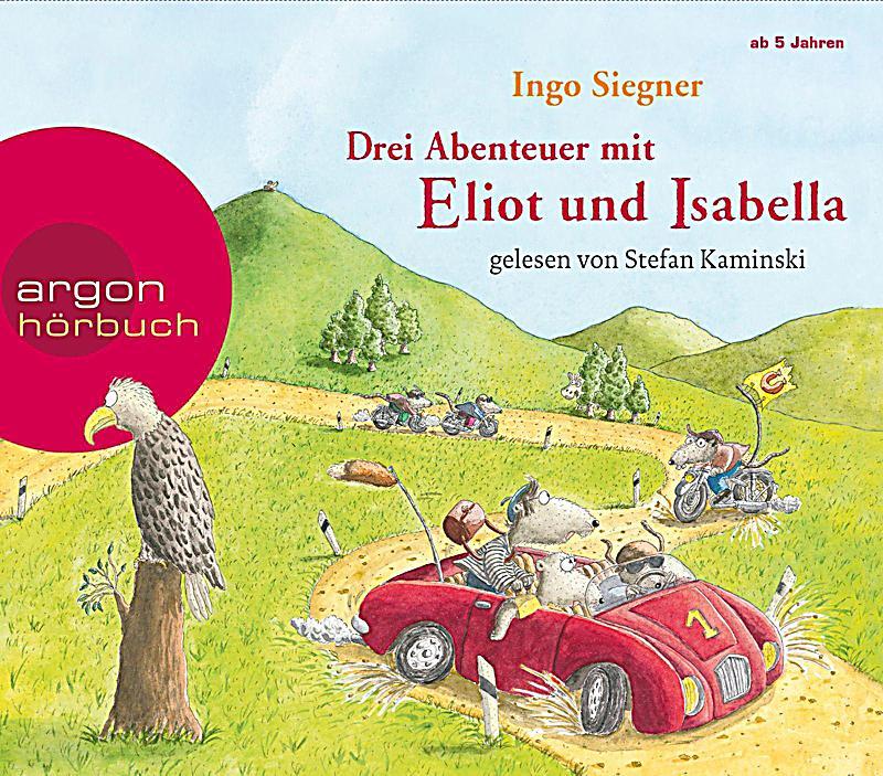 Image of Drei Abenteuer mit Eliot und Isabella, 3 Audio-CDs