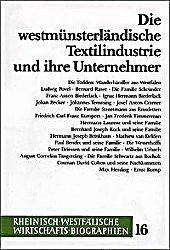 Image of Die westmünsterländische Textilindustrie und ihre Unternehmer
