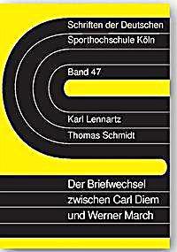 Image of Der Briefwechsel zwischen Carl Diem und Werner March