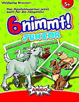 """Image of Amigo """"6 nimmt! Junior"""", Kartenspiel"""