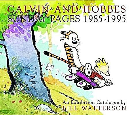 Image of Calvin and Hobbes, Sunday Pages 1985-1995
