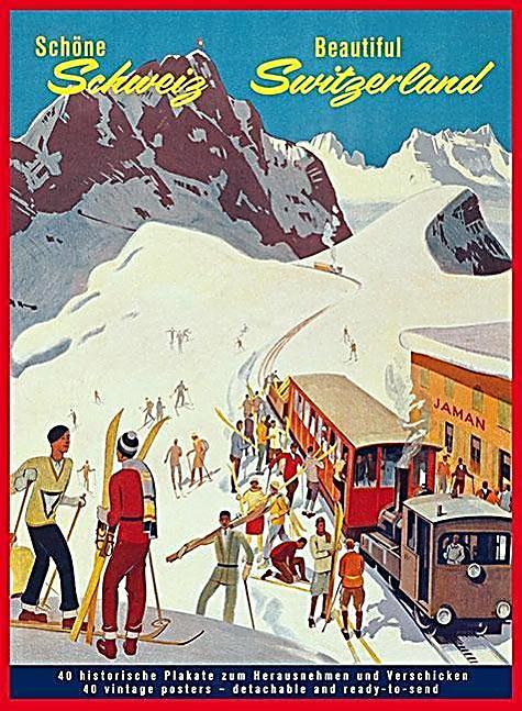Image of Schöne Schweiz, Postkartenbuch, Beautiful Switzerland