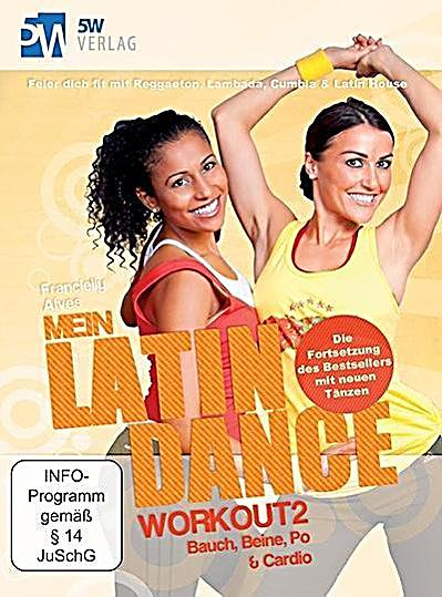 Image of Mein Latin Dance Workout 2, 2 DVDs