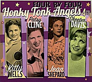 Image of Four By Four-Honky Tonk Angels