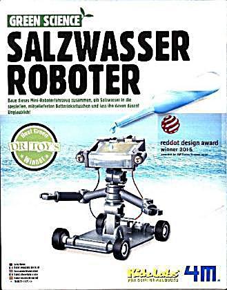 Image of Green Science, Salzwasser Roboter (Experimentierkasten)
