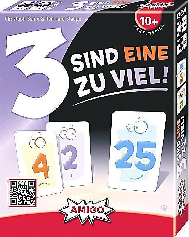 Image of 3 sind eine zuviel! (Kartenspiel)