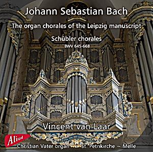 Image of The Organ chorales of the Leipzig m