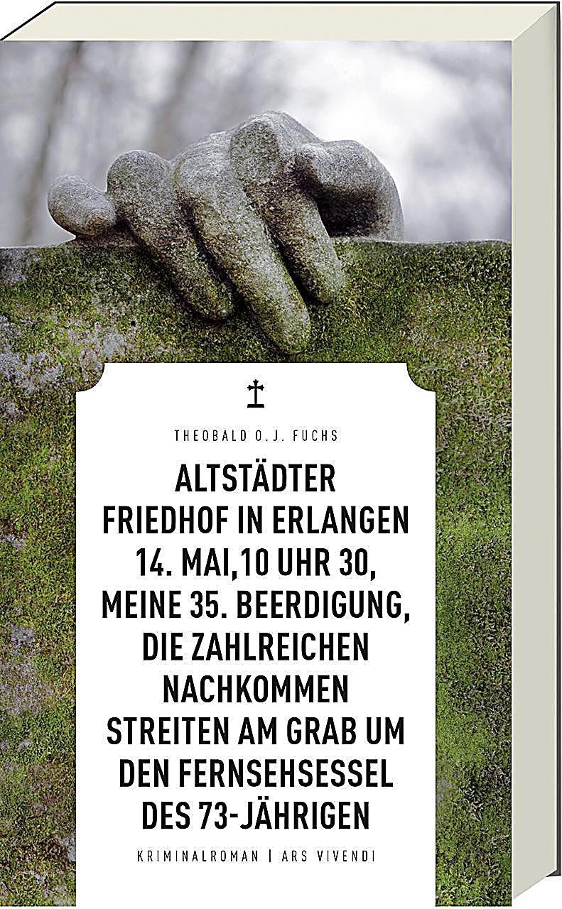 Image of Altstädter Friedhof in Erlangen, 14. Mai, 10 Uhr 30, meine 35. Beerdigung, die zahlreichen Nachkommen streiten am Grab u