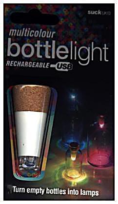 Image of Bottle Light multicolour, Flaschen-Licht