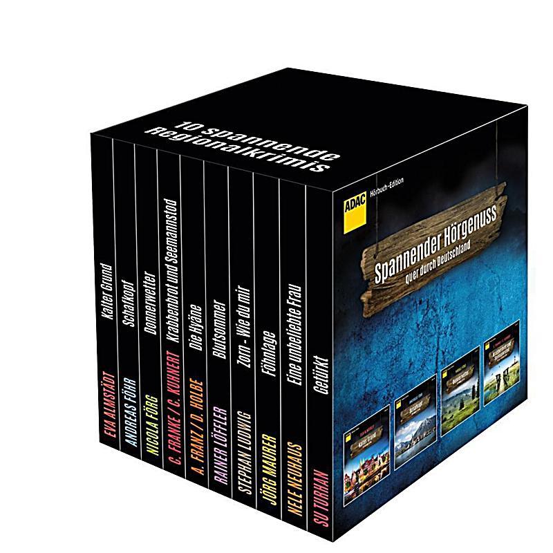 Image of ADAC Hörbuch-Edition Regionalkrimis 2017, 10 MP3-CDs