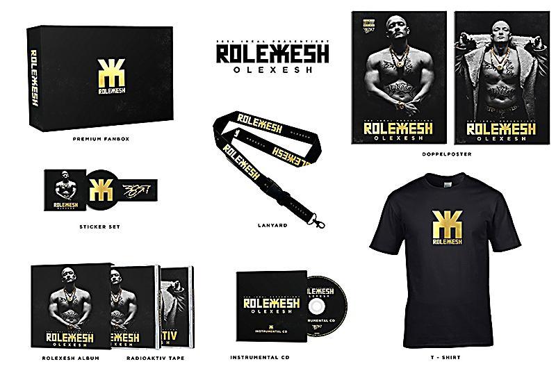 Image of Rolexesh (Limited T-Shirt Edition Boxset)