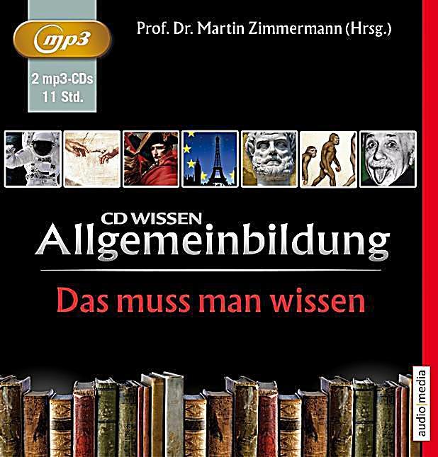 Image of Allgemeinbildung, Das muss man wissen, 2 MP3-CDs