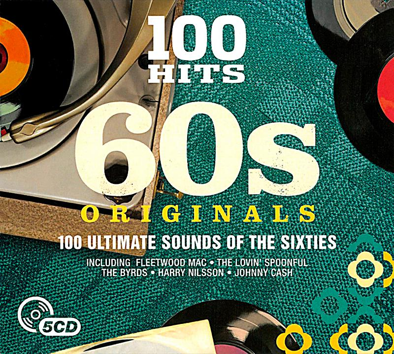 Image of 100 Hits-60'S Originals, 5 CDs