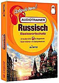 Image of Audiotrainer Basiswortschatz Deutsch-Russisch Niveau A1