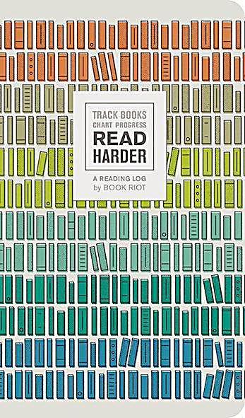 Image of Read Harder (A Reading Log): Track Books, Chart Progress