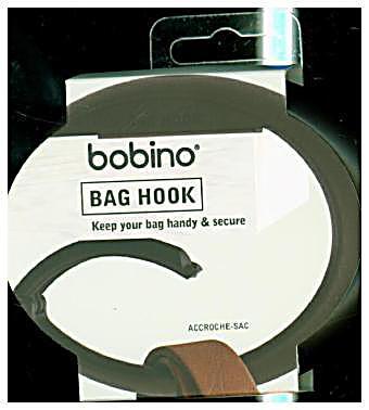 Image of Bag Hook - charcoal, Halterung für Taschen