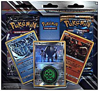 Image of Pokemon, Enhanced 2-Pack Blister deutsch (Sammelkartenspiel)