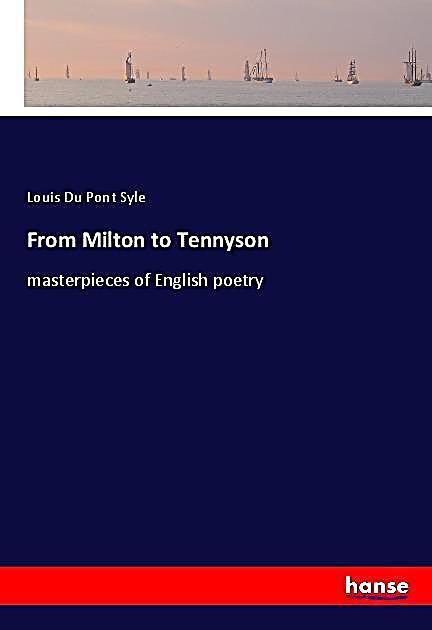 From Milton to Tennyson