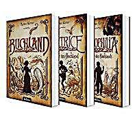 Image of Buchland Band 1-3: Buchland / Beatrice. Rückkehr ins Buchland / Bibliophilia. Das Ende des Buchlands: Die komplette Trilogie (Paperback)