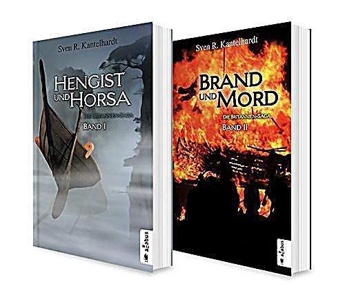 Image of Die Britannien-Saga. Band 1 und 2: Hengist und Horsa / Brand und Mord. Die komplette Saga in einem Bundle