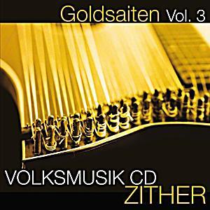 Image of Goldsaiten Vol.3-Zither Volksmusik